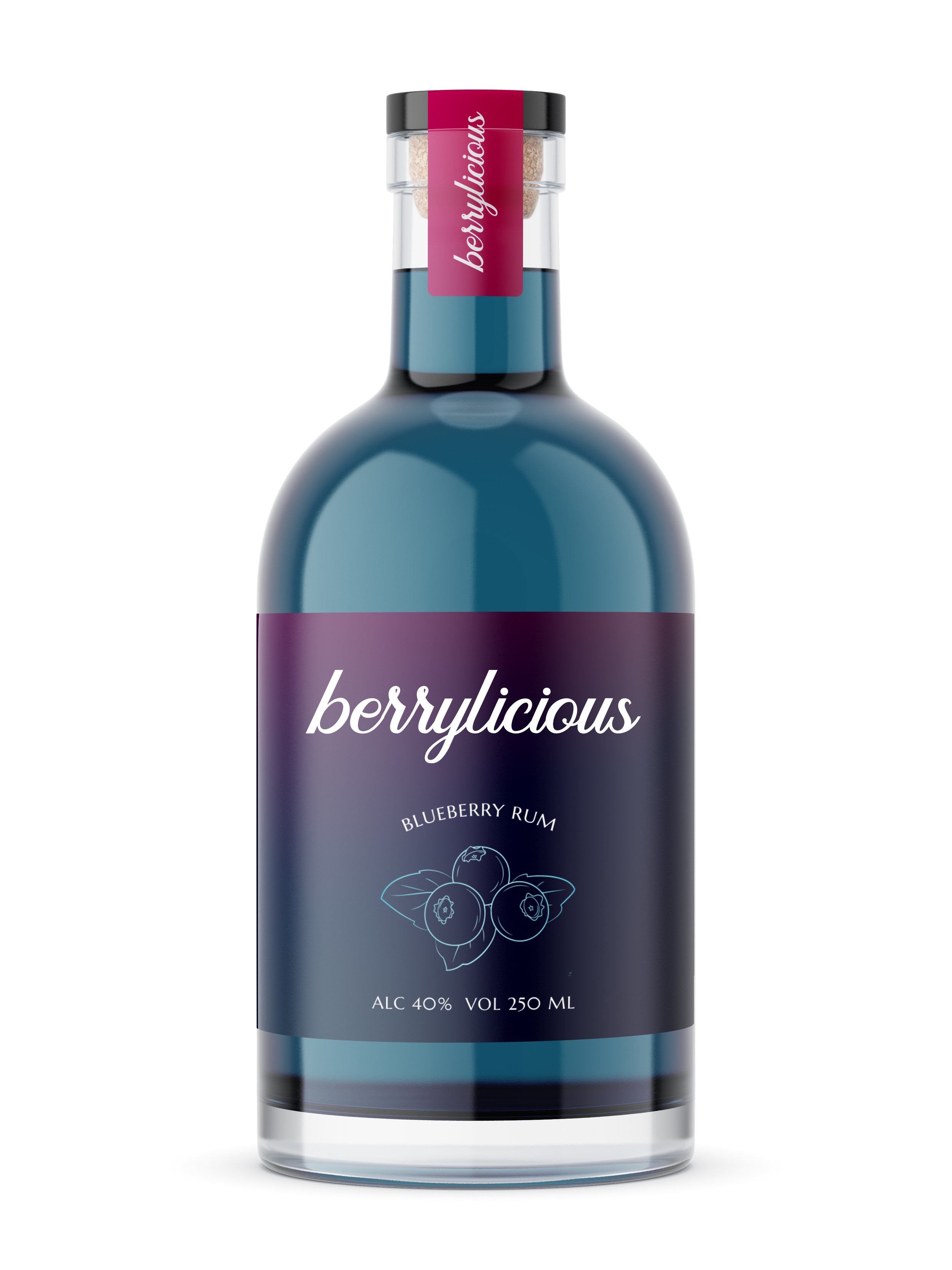 Berrylicious Blueberry Rum