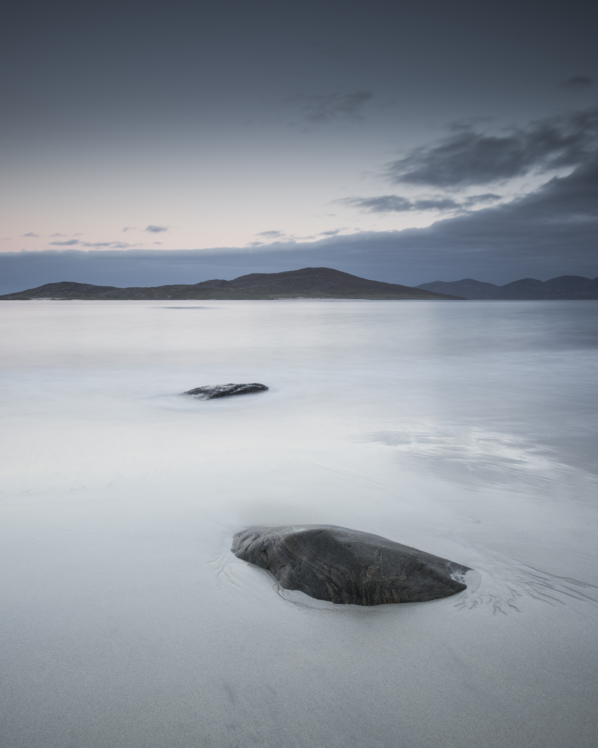 Isle of Harris with 1.2 medium ND Grad and Pro Glass 10 stop. Processed file.