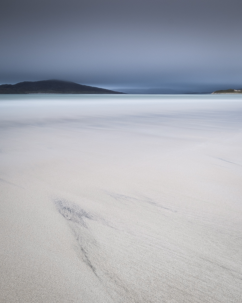 Seilebost, Isle of Harris with with 1.2 medium ND Grad and Pro Glass 15 stop. Image processed in Lightroom and Adobe Photoshop.