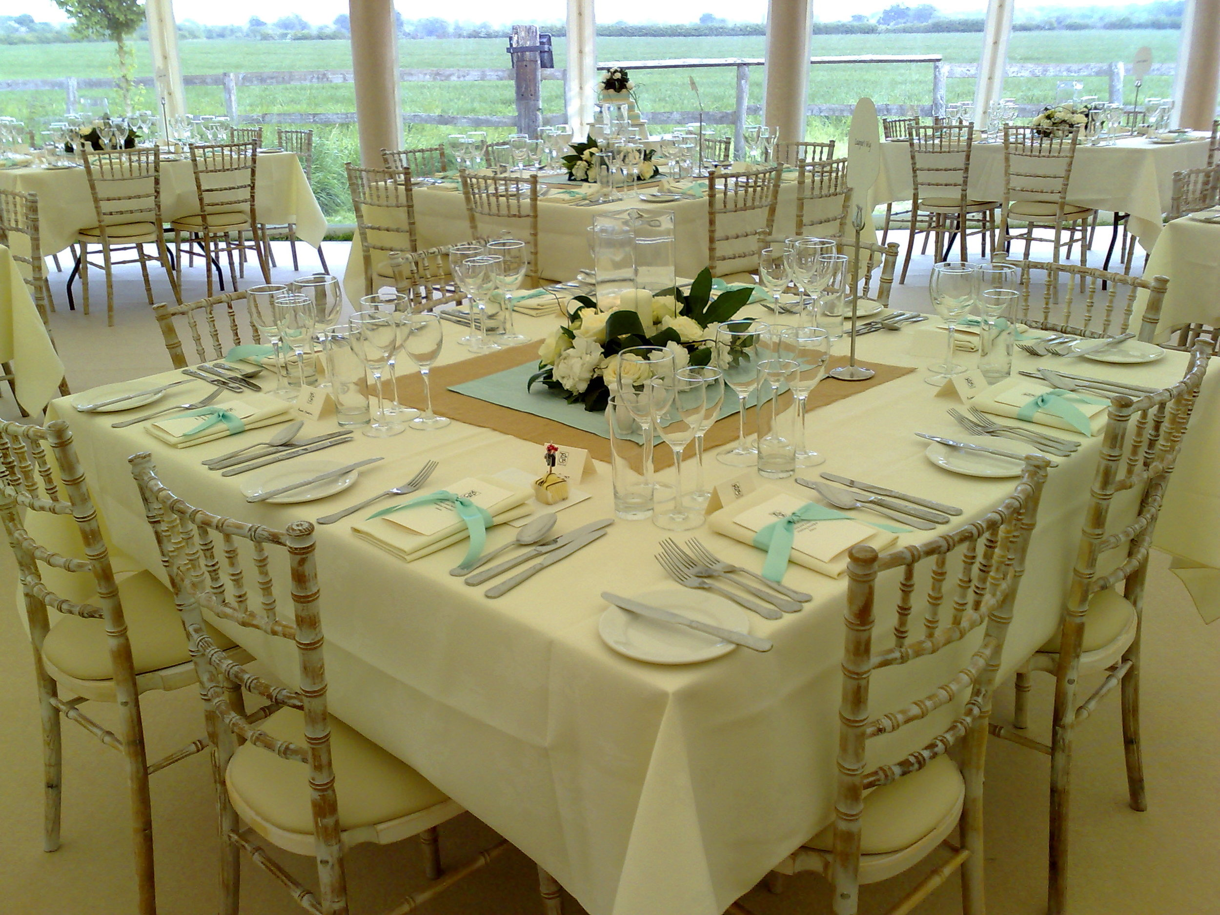 With a wide range of furniture there are so many options for your wedding breakfast