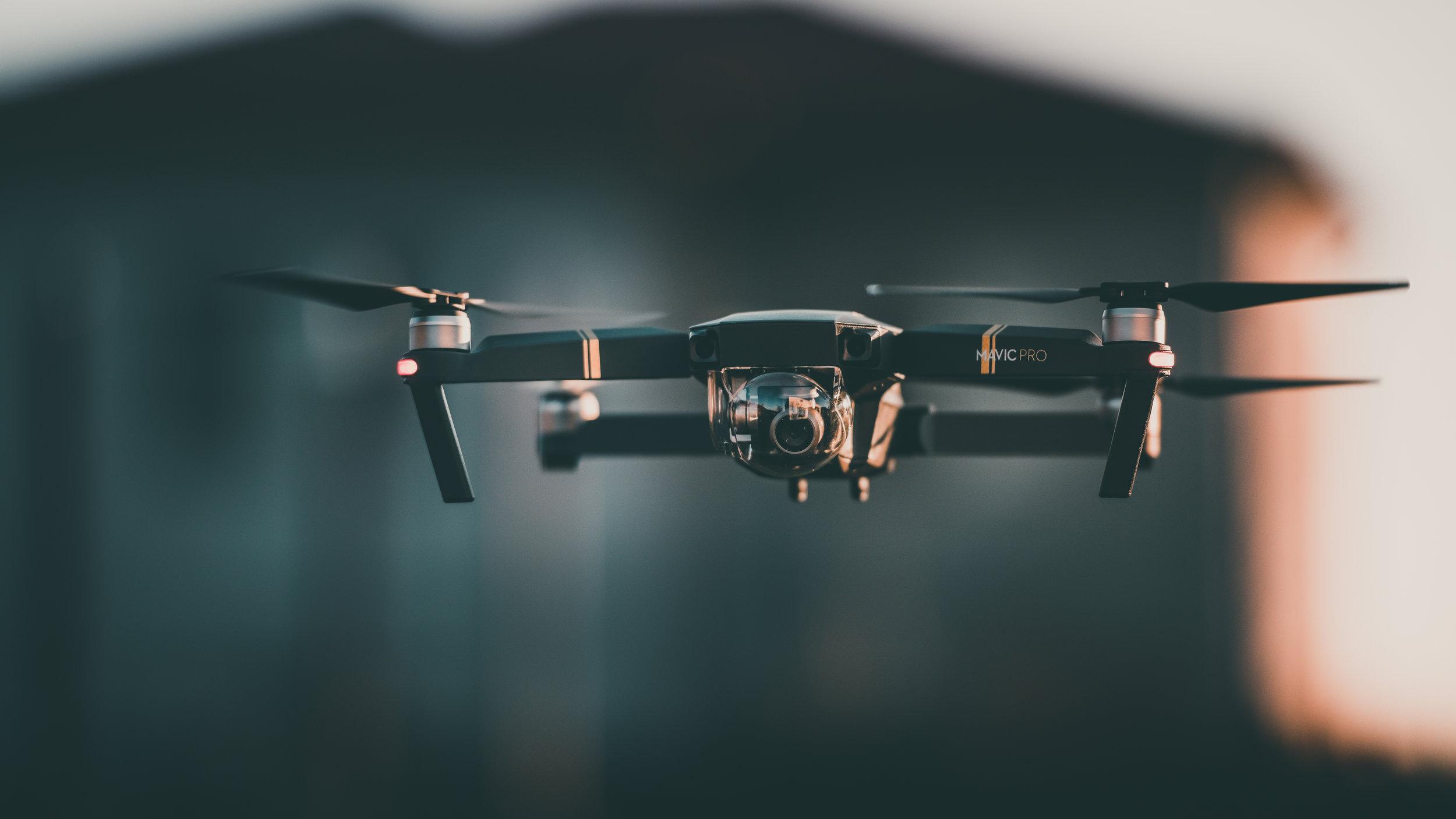 Dronevideo -