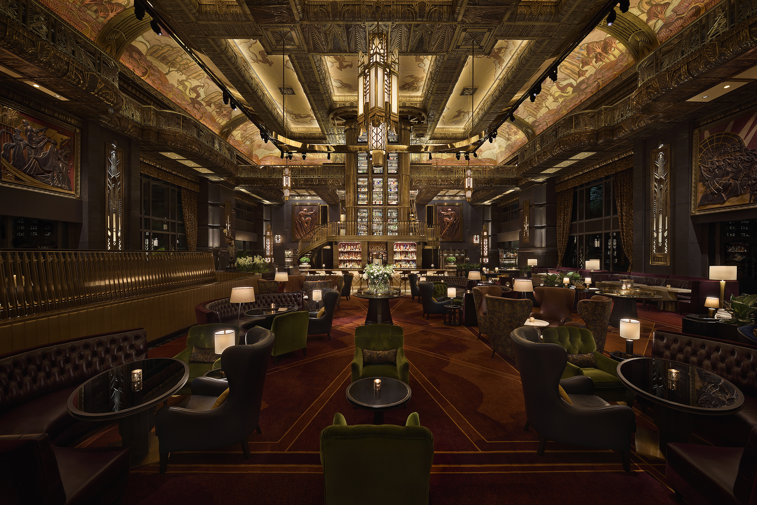 enjoy a cocktail at ATLAS as part of your Singapore tours