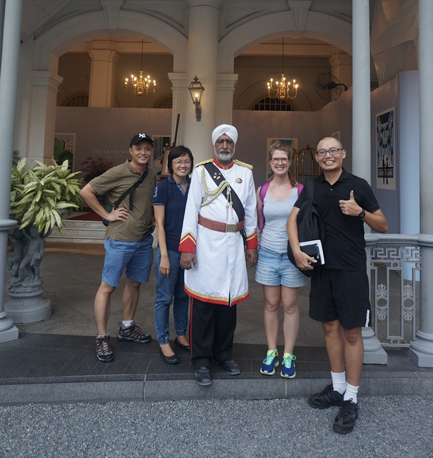ask your singapore tourist guide about this gentleman