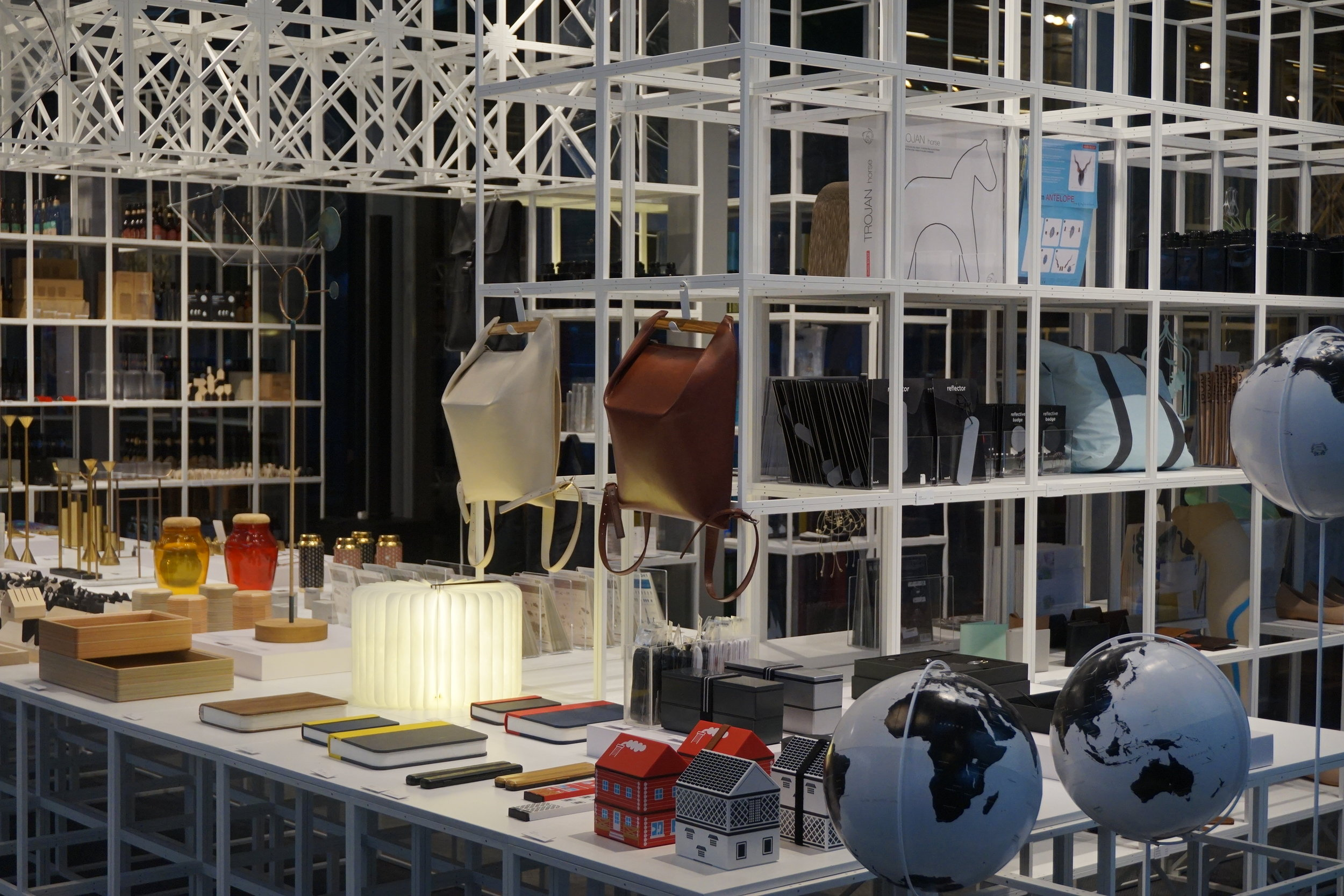 the shop at the red dot design museum - perfect for picking up gifts after your tours in singapore
