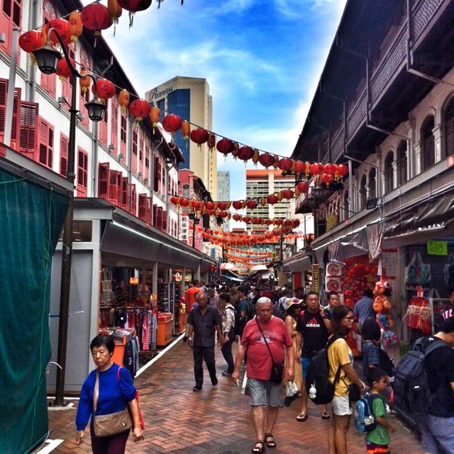 Lanterns in Chinatown Singapore
