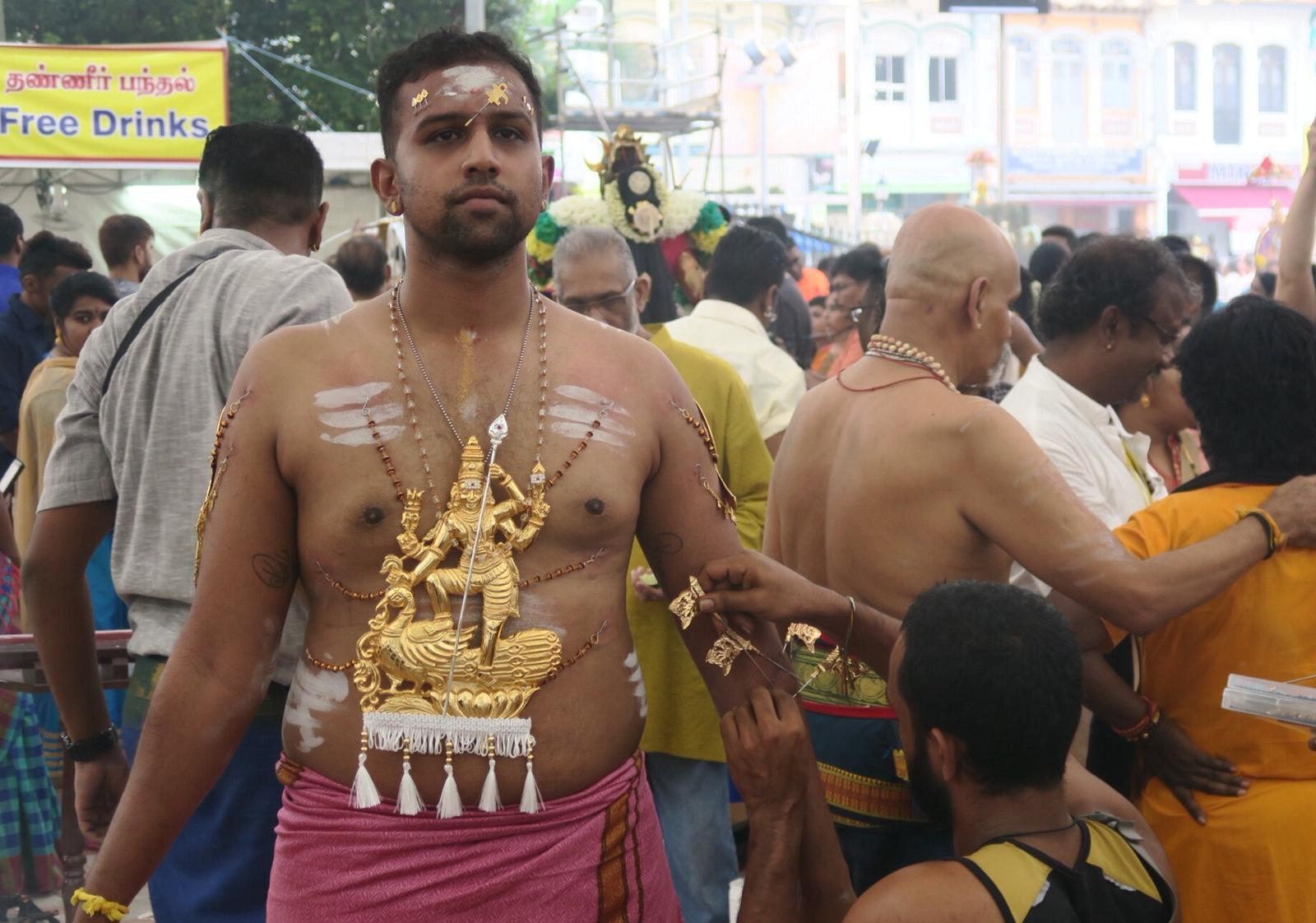 Spectacular views at Thaipusam