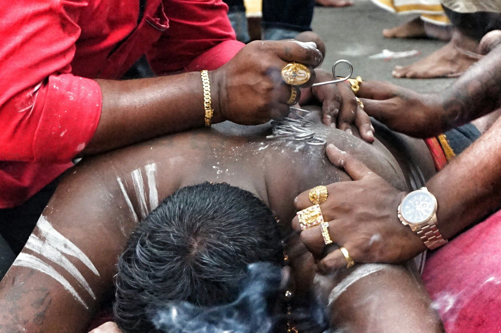 Sacrifice on Thaipusam