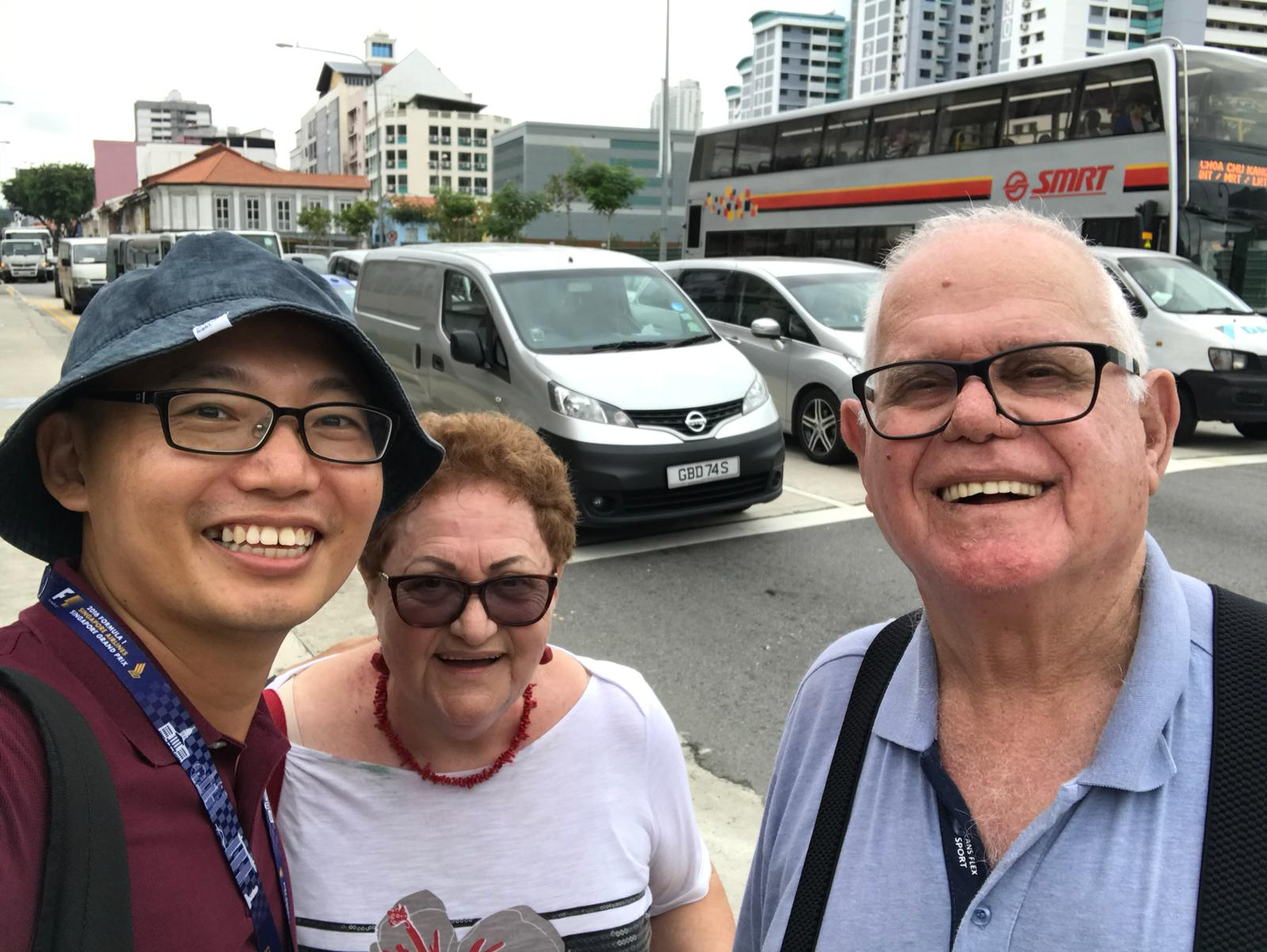 It's always fun on a Singapore Day Tour with Gee Soo!