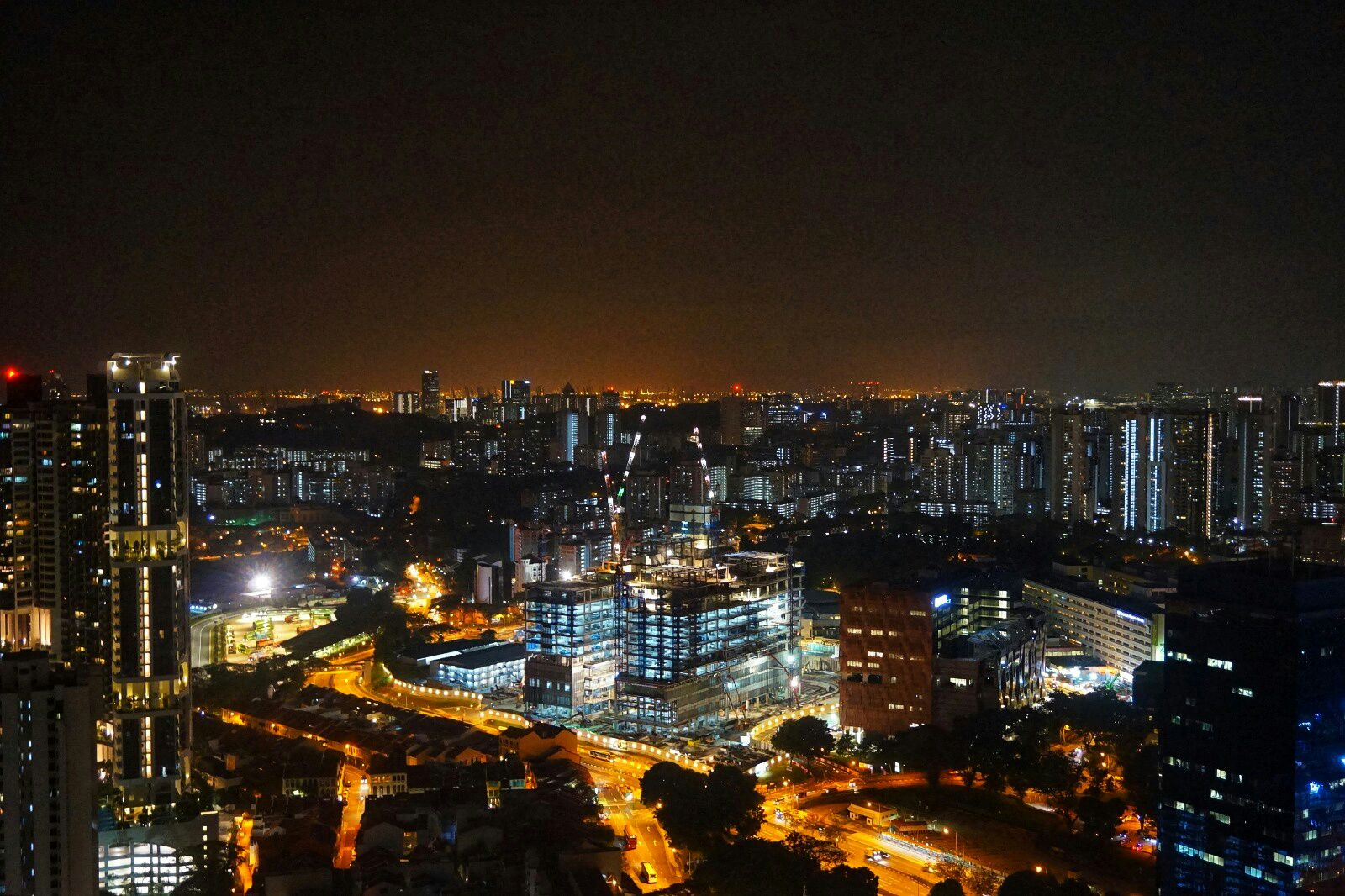 Tours in Singapore at night