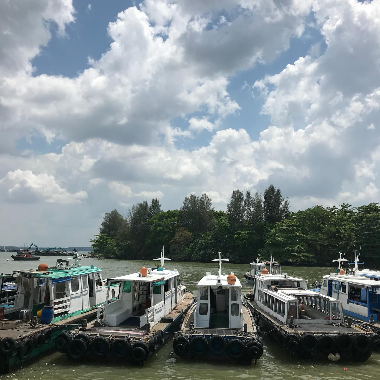 Bumboats to Pulau Ubin