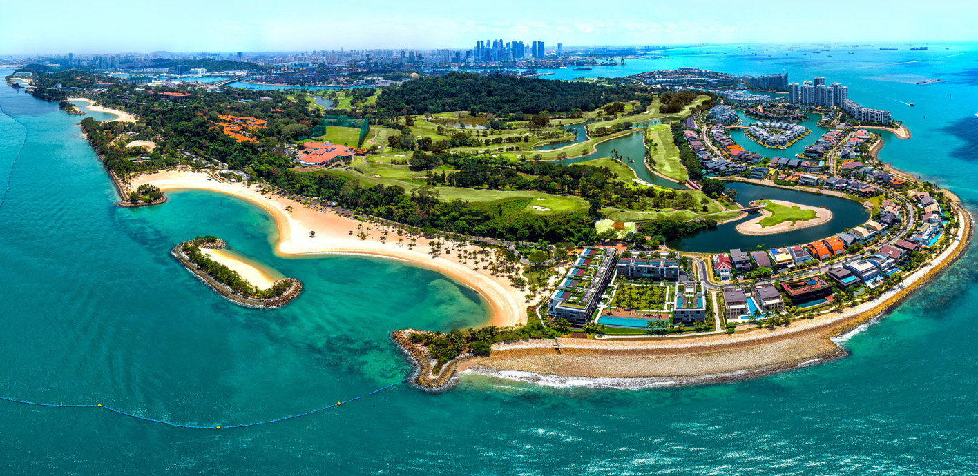 try out sentosa in combination with a singapore city tour