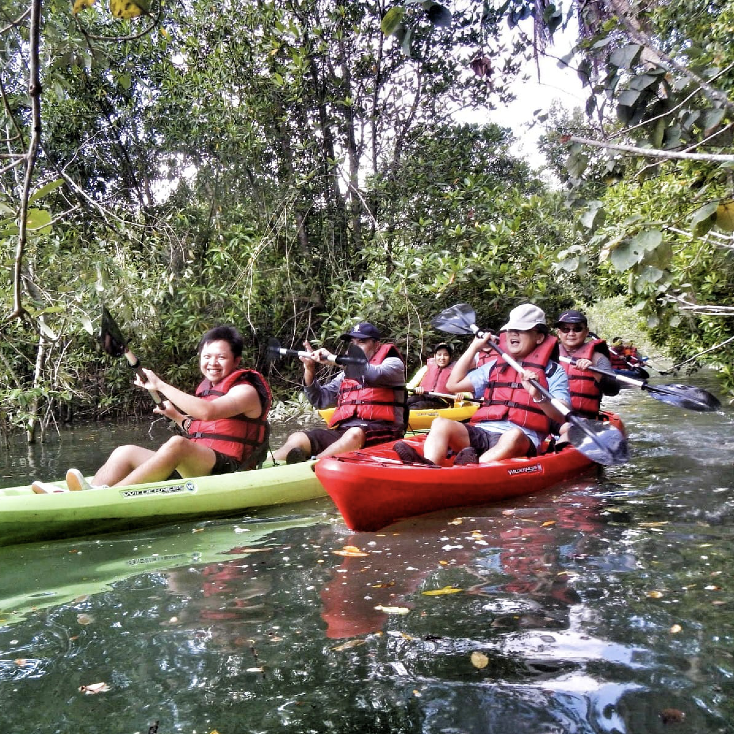 book kayak singapore for your pulau ubin activities