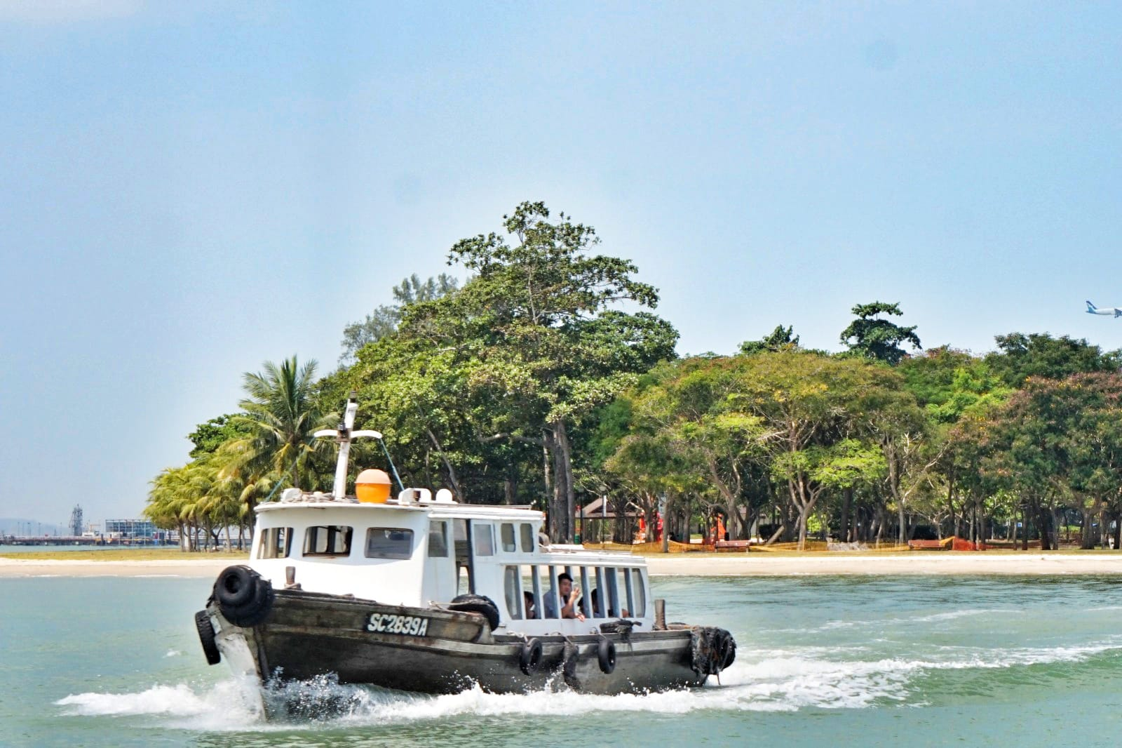 take a 10 minute bumboat ride to enjoy pulau ubin activities
