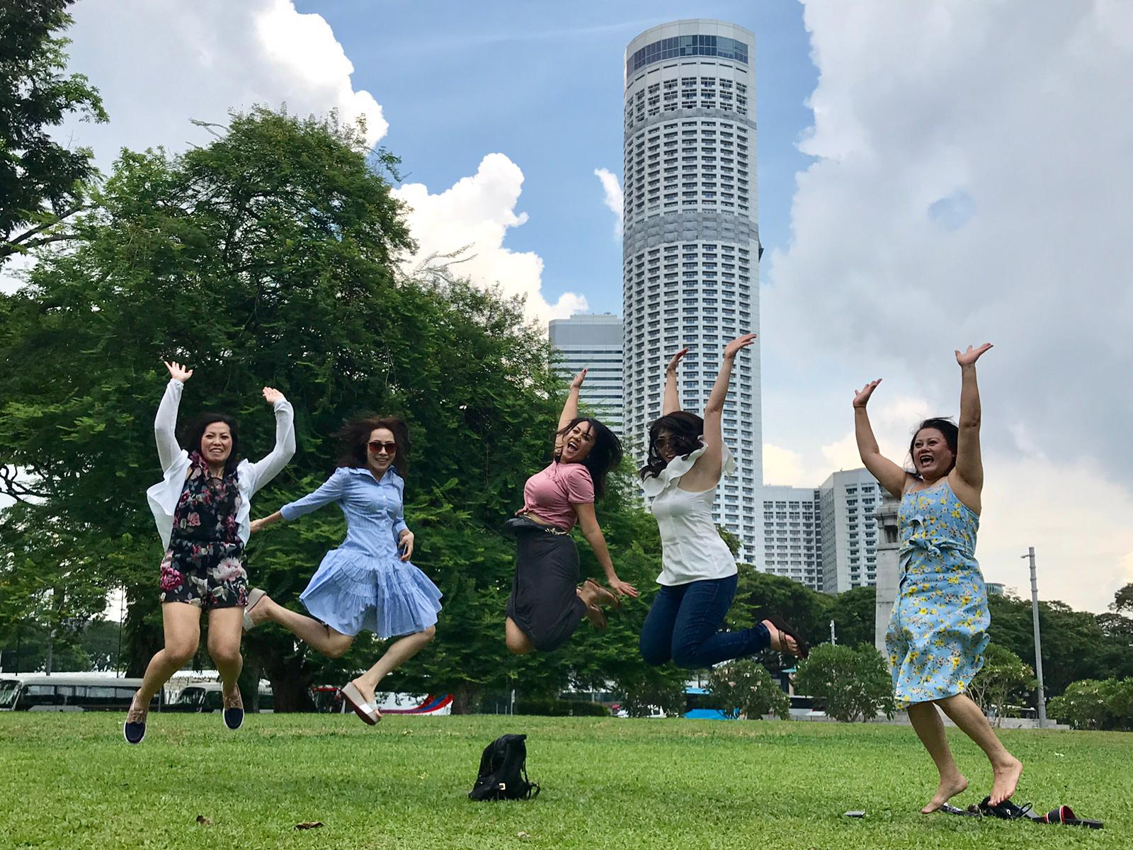 having great fun not only on our singapore day tours