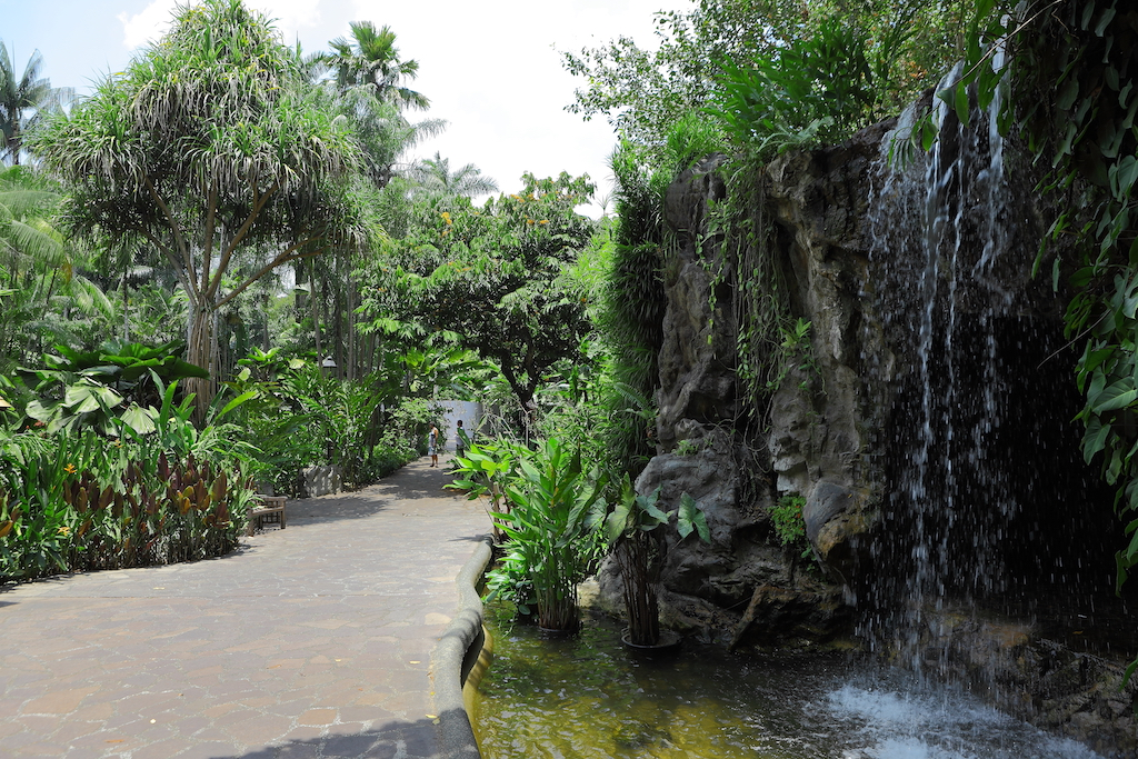 Ask about garden city on your private tours singapore