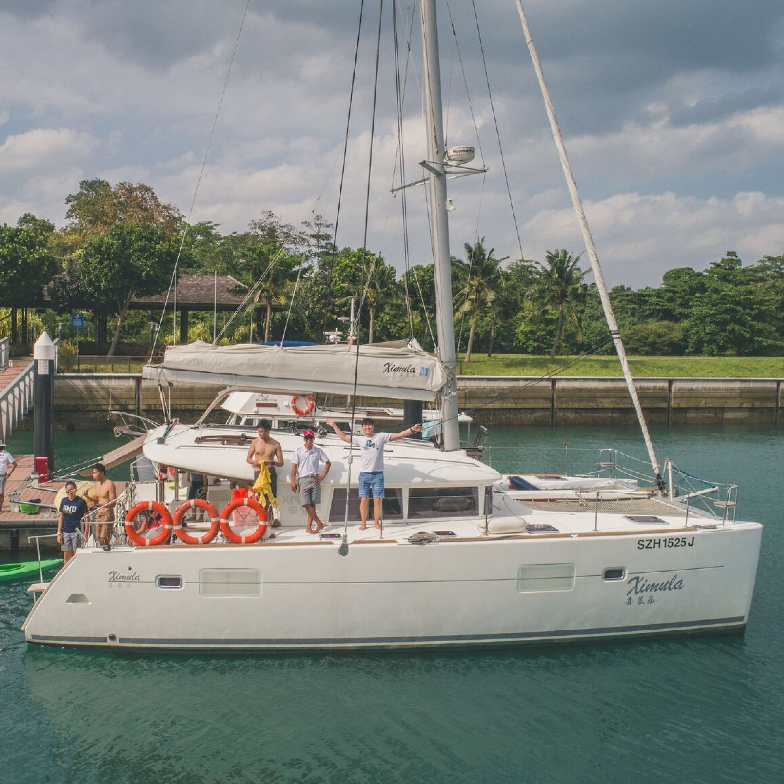 Sunset Harbour Cruise - Spend an evening cruising around the Southern Islands of Singapore on our 3-hour sunset sail. Relax and recharge on our spacious 40ft catamaran. Light snacks, soft drinks and water activities are included.Maximum of 18 people.Every TuesdayUS$66 per person →