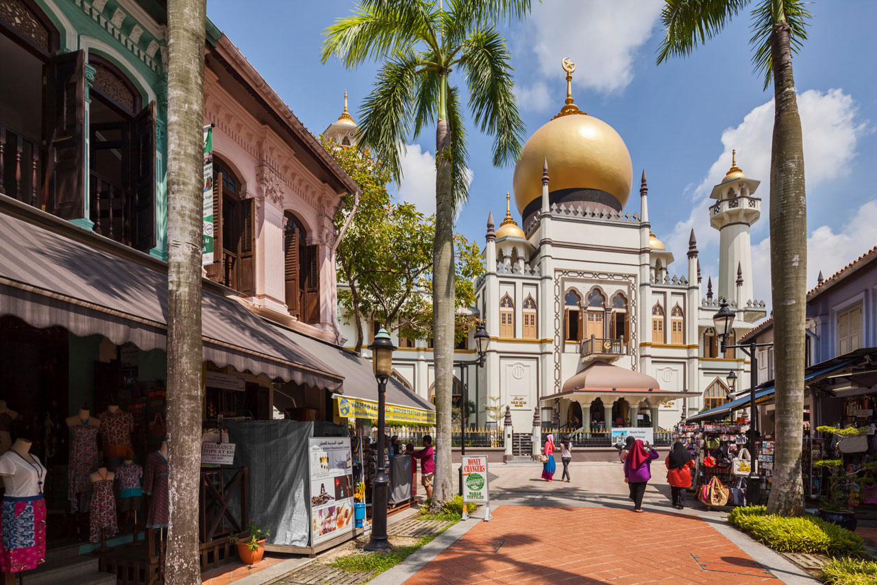 Book a private tours in Singapore to explore Kampong Glam