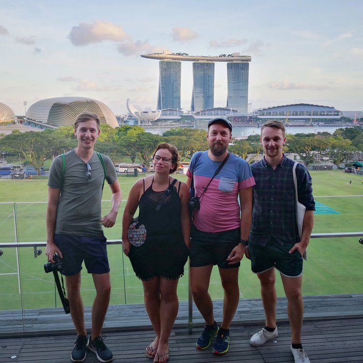 Group Day to Night Tour - If you book a small group tour you will join a group of other visitors. We take a maximum of 9 guests on our small group night tours in Singapore so it is still an immersive experience with lots of one-on-one time per person with the guide. You will need to be comfortable talking to and sharing your guide with a group of new friends.A 4.5-hour public group night tour.Monday, Wednesday and Friday.US$110 per person →