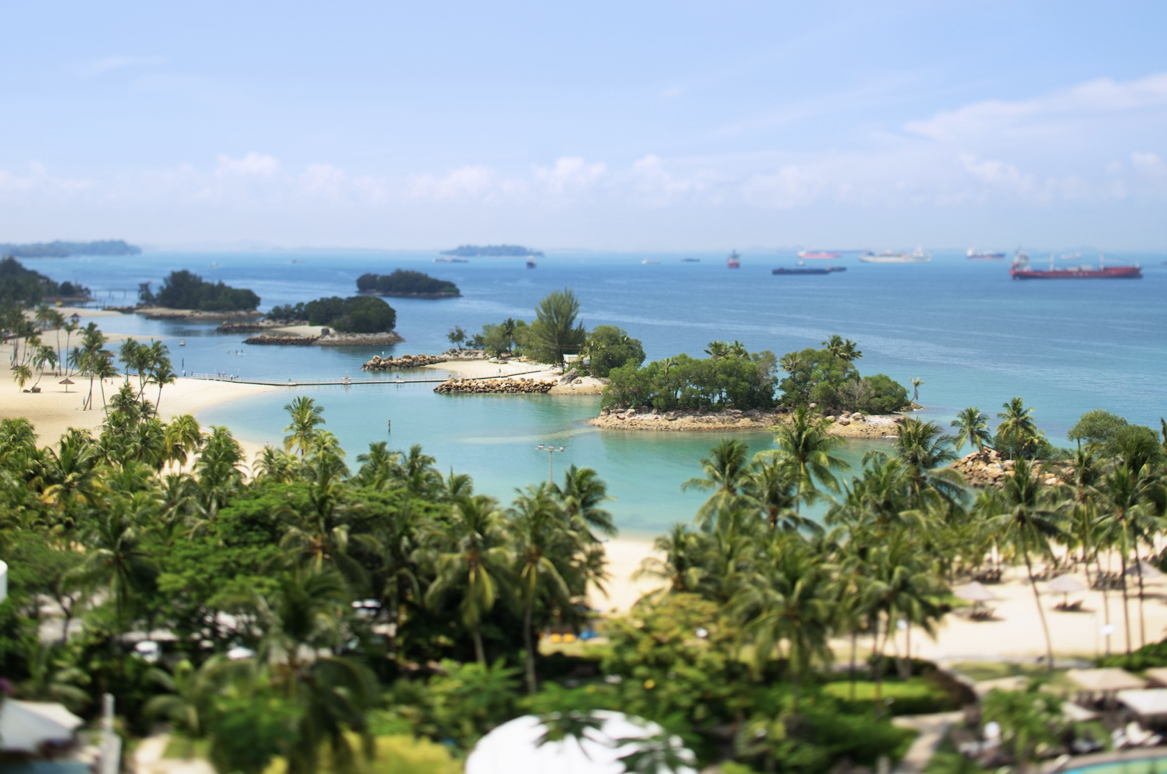 Visit this island for your Singapore excursions