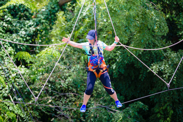 If you are looking for Singapore activities, check out the Mega Adventure Park!