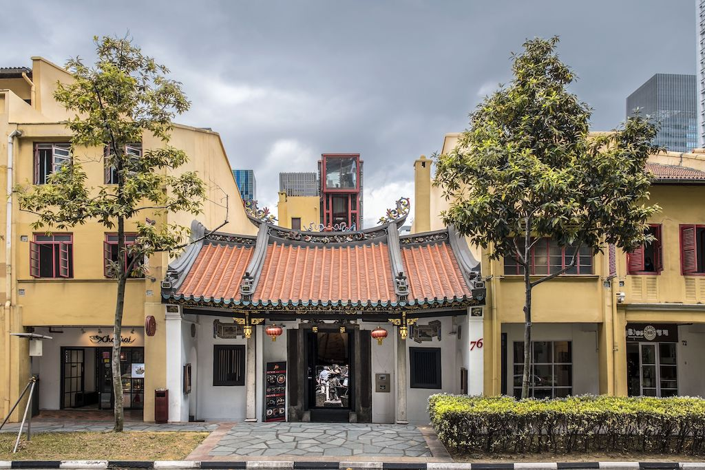 Looking for things to do in Singapore? Visit the Fuk Tak Chi Museum.