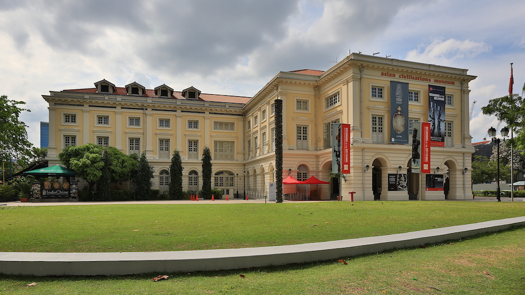 A place to visit on your private car tour Singapore - the Asian Civilisations Museum