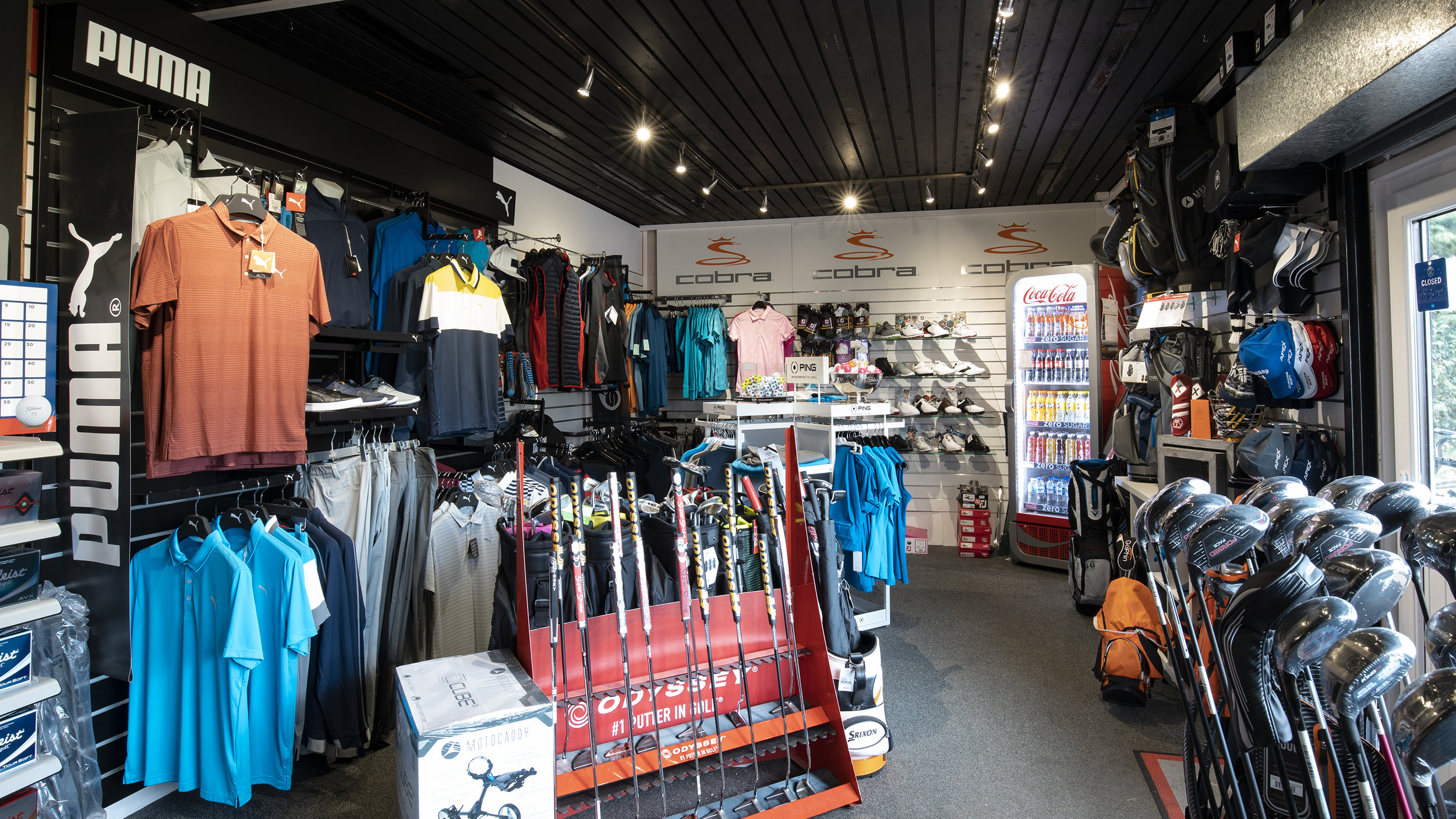 Retail - Whether you are looking for clubs, clothing, equipment, accessories or golf balls come to RM Irvine Golf and we'll ensure that you are taken care of.