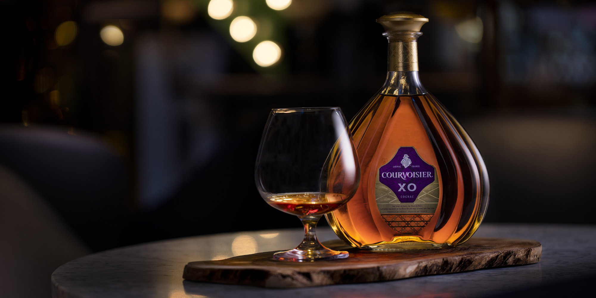 The Grahamston Bar I Cognac Courvoiser XO