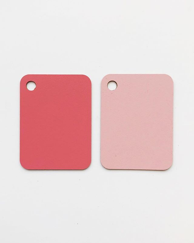 A Study of Pink.  Abet laminate - 825 & 830  Beautiful laminates, really great for adding some block colour to a set • • • • • • • #design #interiordesign #setdesign #architecture #colourscheme #pink #materiallibrary #materialboard