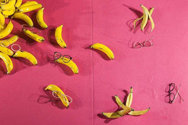 Shades of Blush. Study of Pink.  Detail from the 'Keep Your Eyes Peeled' window I worked on with the Selfridges Windows Team. Eye See Scheme, 2018. • • • • • • • #design #interiordesign #setdesign #architecture #colourscheme #pink #materiallibrary #materialboard #selfridges #visualmerchandising #banana #felt #selfridgeswindows