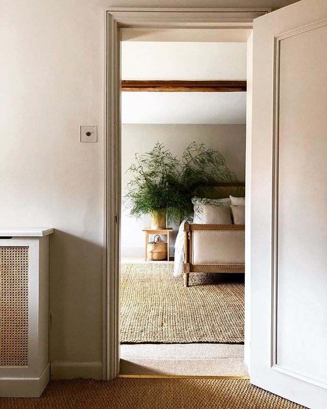 Morning💫  I think these asparagus ferns are my new look. Beech branches are my number one, but my beautiful friend has fields of this asparagus and she gave me a load of them and I filled the house. Like, literally. And I really love it.  Eye spy: WoodEdit Bedside Table in Ash and Cane lined Radiator Cover  Please come over on Friday 8th November and see me + the collection. ⭐️ #wood #woodedit #style #mystyle #simpleinterior #natural #handmade #craftsmanship #buybritish #ashwood #design #bedroom #artisan #simplicity #sustainable #eco #simpleliving #asparagusfern #alwaysnatural #cane #furnituredesign #autumn #homelife #interiorstyling #interiorinspo #neutralcolors #interieurdesign #chic #beautiful #love