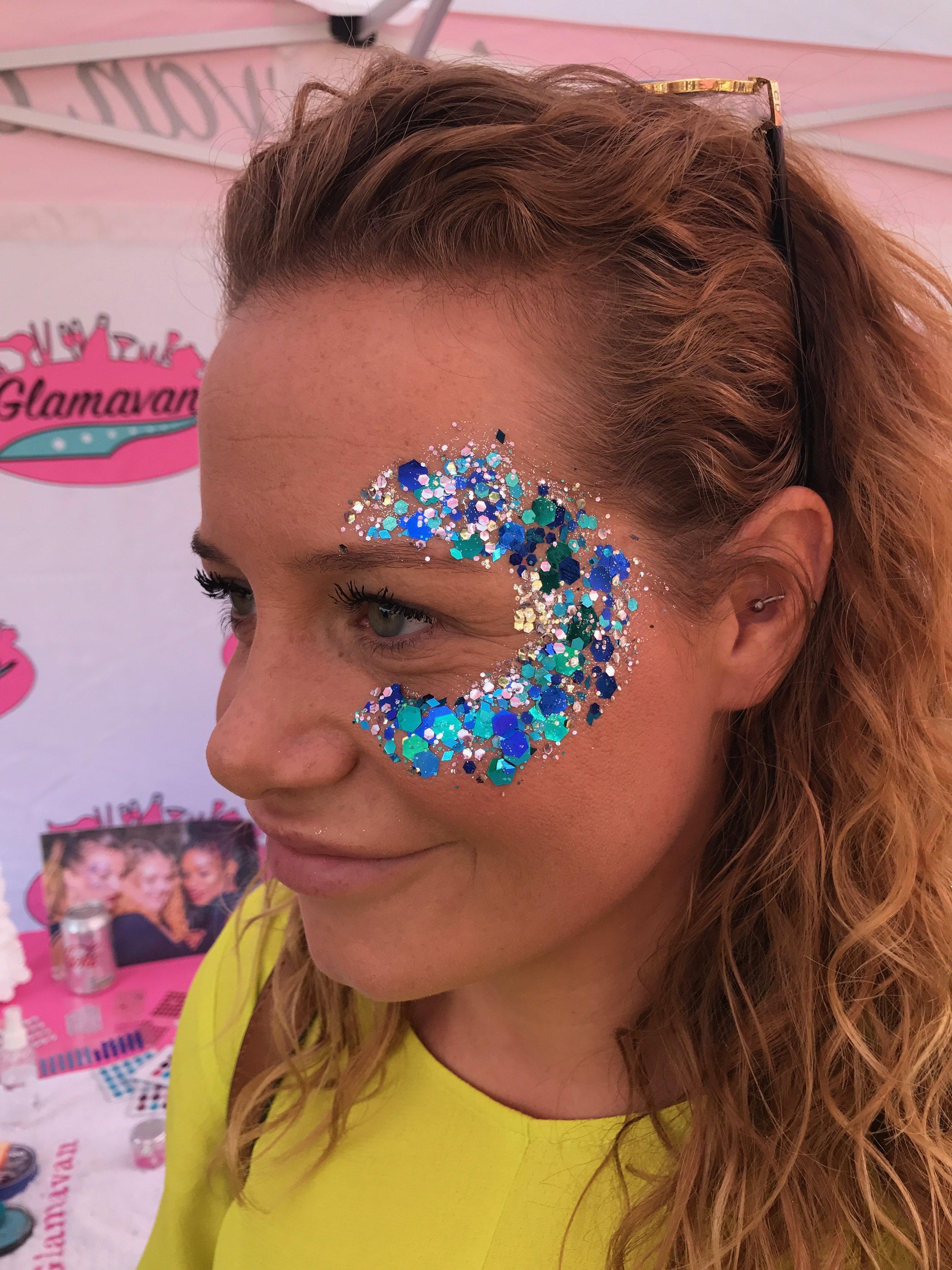 Glitter Makeup - Festival