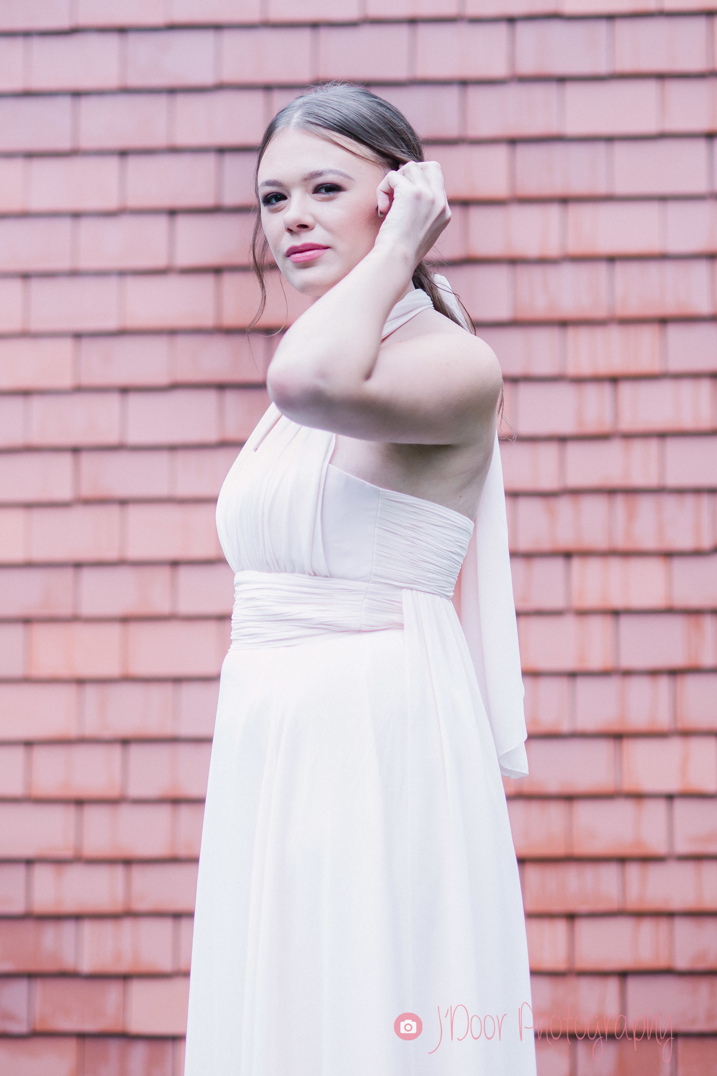 Makeup by Toni Cassidy - Glamavan, Hair by Emma J Hair Styling, Dress by Matchimony, Model Billie.