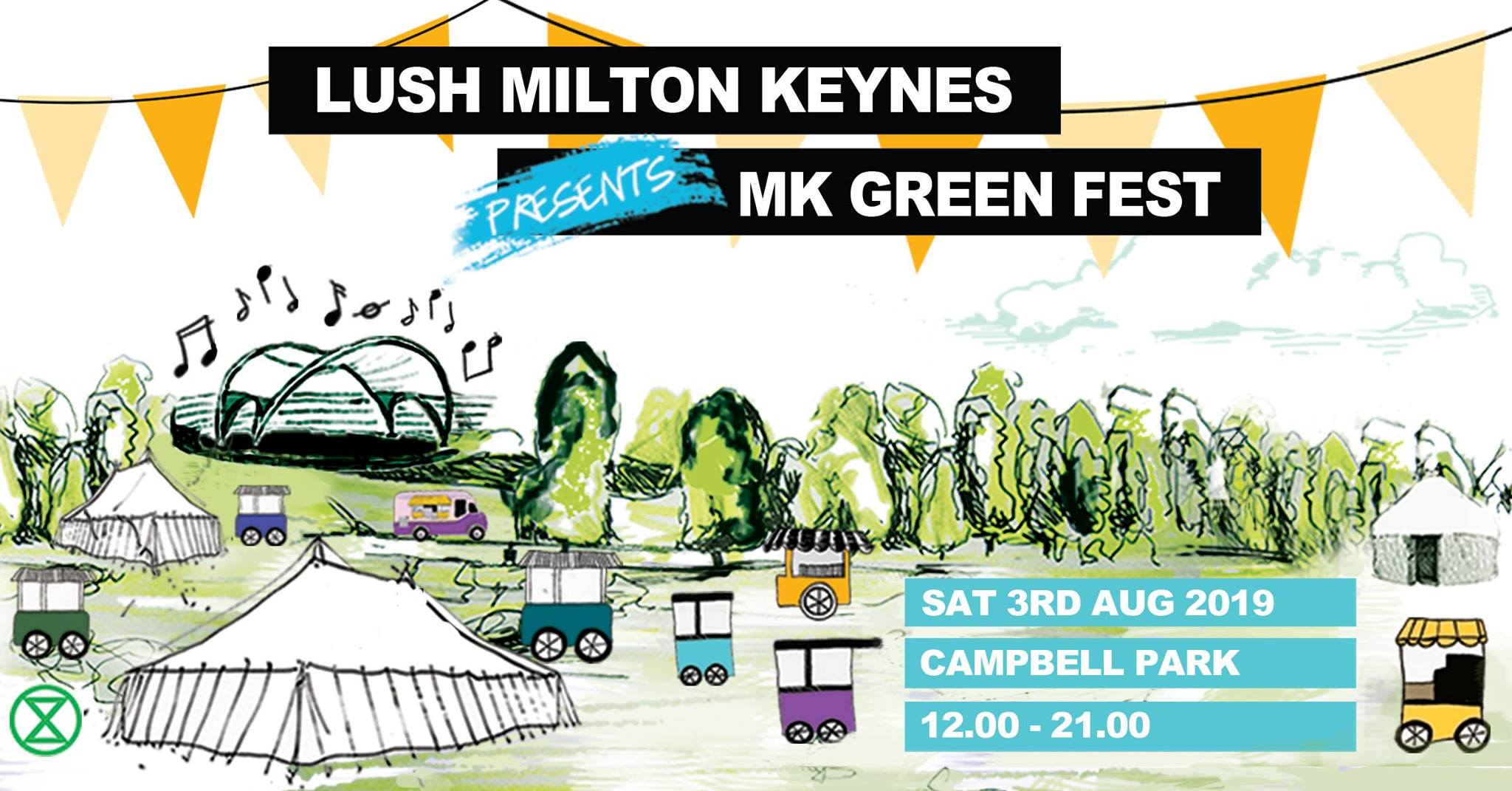 MK GREEN FEST - LUSH MILTON KEYNES - Saturday 3rd August 2019Time: 1200pm - 9pmVenue: Campbell Park, Milton Keynes