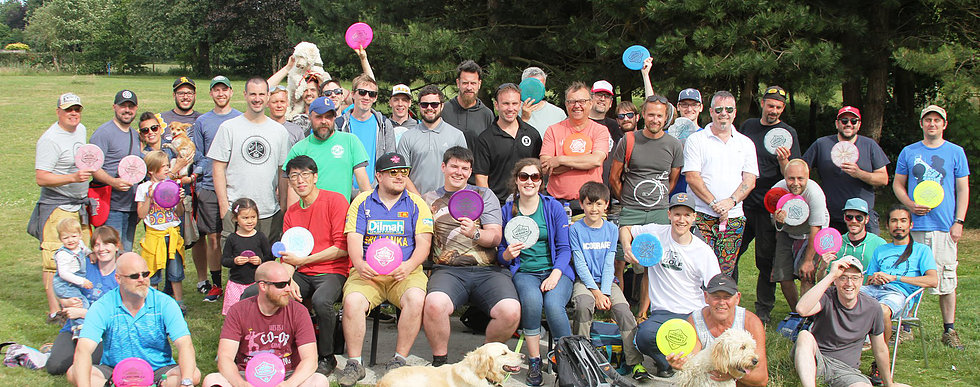 Manchester Trilogy Challenge 2018 presented by Manchester Disc Golf and London Disc Golf Community Event Gallery