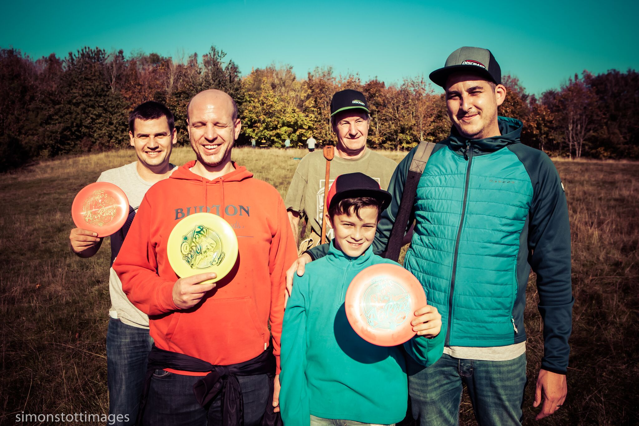 Martin Harris, Geoff Towns, Brian Shaw, Dave Landreth & Finley Landreth at the Brighton Ace Race 2018.