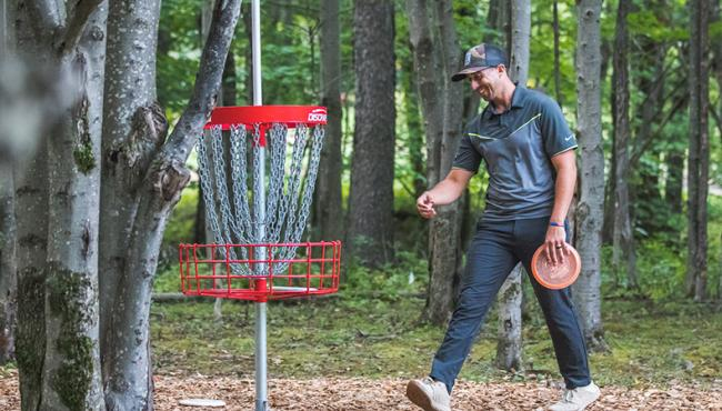 Paul McBeth confirmed details of his new contract and talked about what will be in his new bag on this week's podcast. Photo:    Alyssa Van Lanen