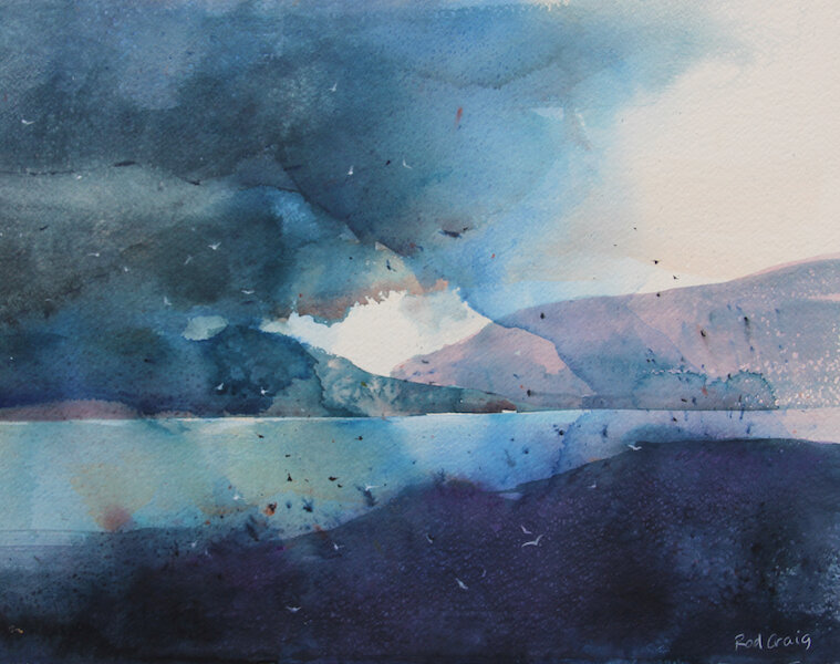 """Shadowland"", Rod Craig. Kingfisher Art."