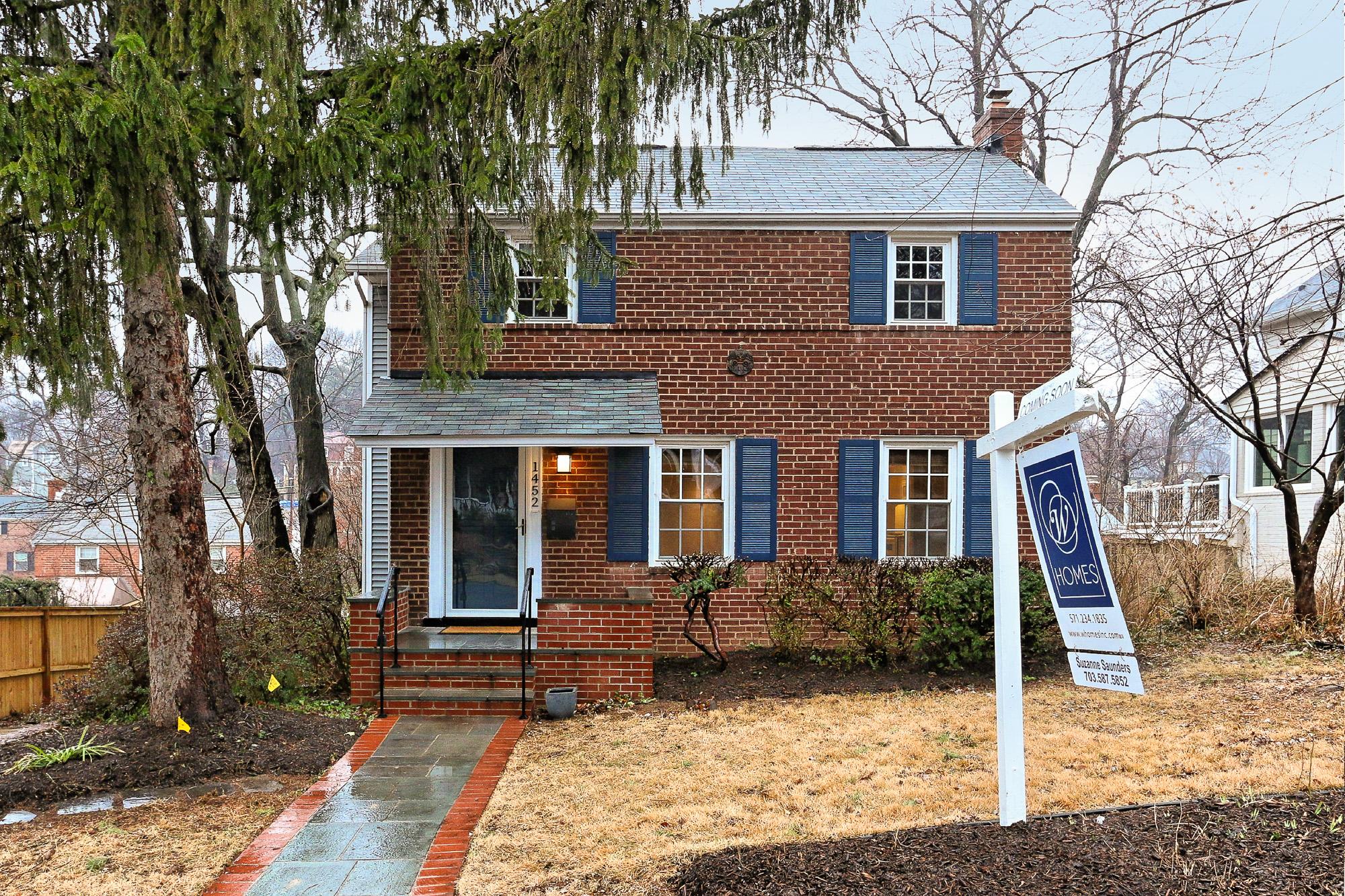 Rustic Brick Home located at 1452 N Longfellow St, Arlington, VA 22205.jpg