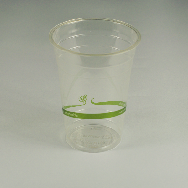 Vaso estándar transparente de PLA 16oz (470ml).