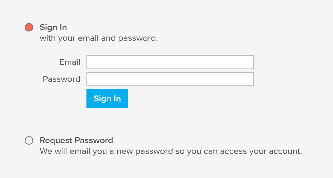 """Directory Login - Visit the page labeled """"Member Sign-in"""" to log into your profile. If you are a first time user you must select """"REQUEST PASSWORD"""" in order to receive a password."""