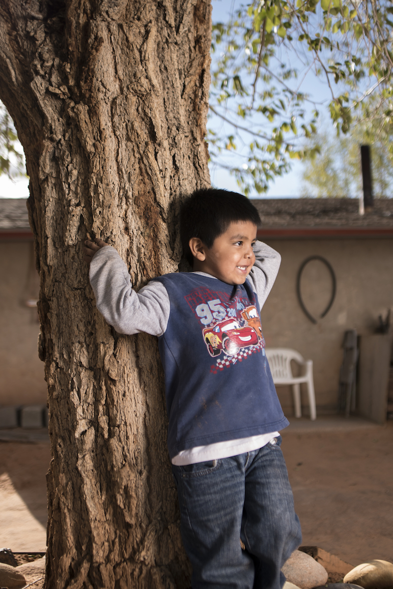 Jordan Yazzie lives on Navajo Mountain and needs clean water. - Watch the film.