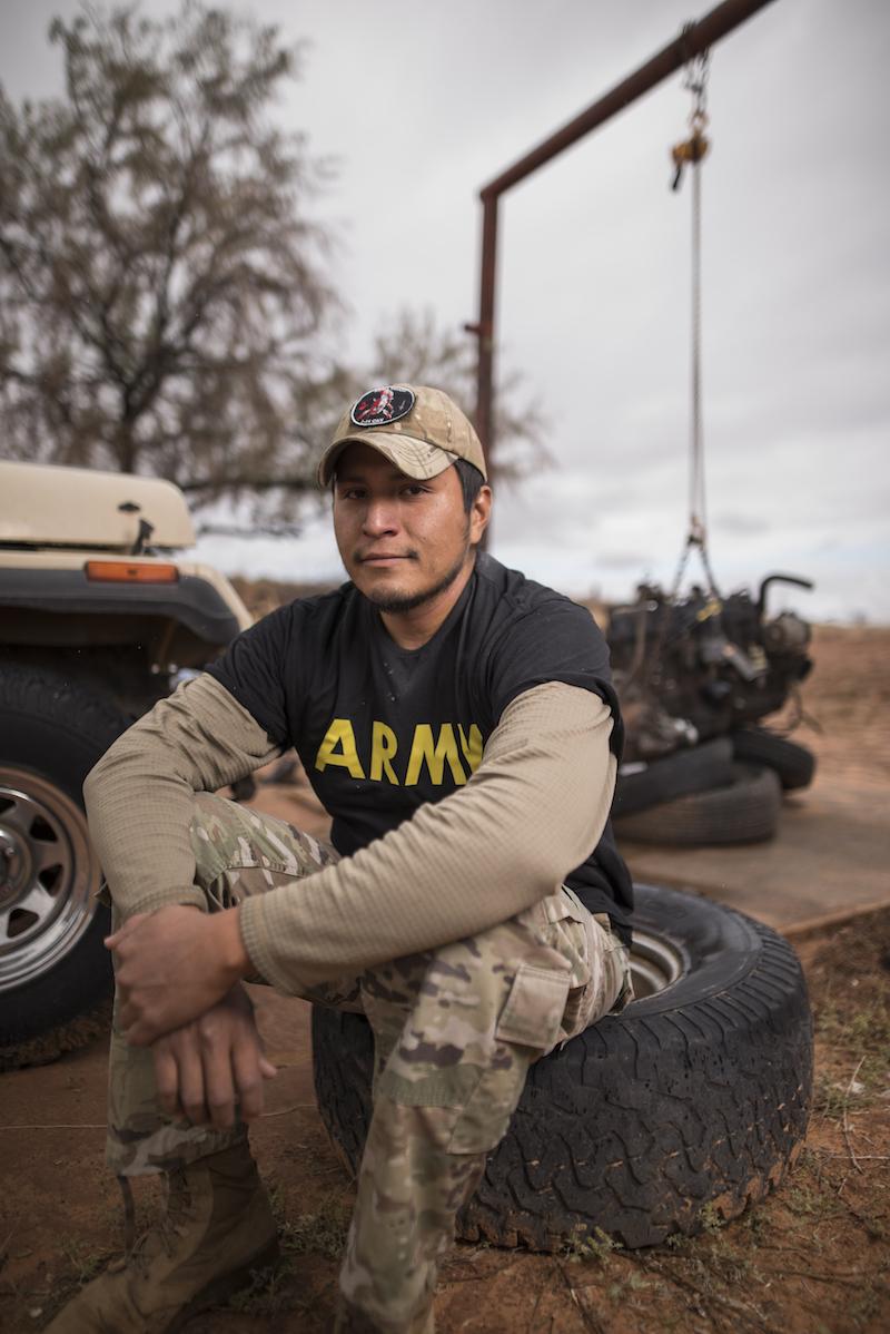 Donovan Greymountain liveson Navajo Mountain and needs clean water. - Watch the film.