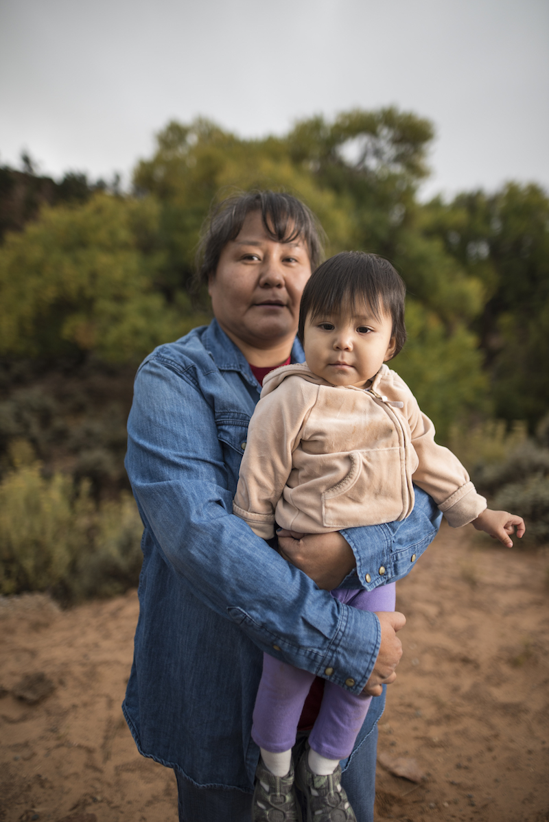 Lilian & Zariahlive on Navajo Mountain and need cleanwater. - Watch the film.