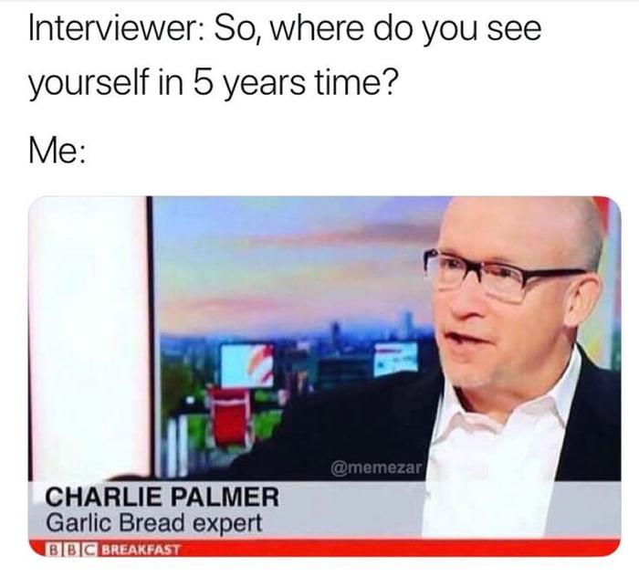 If you are a Garlic Bread expert, let's talk.