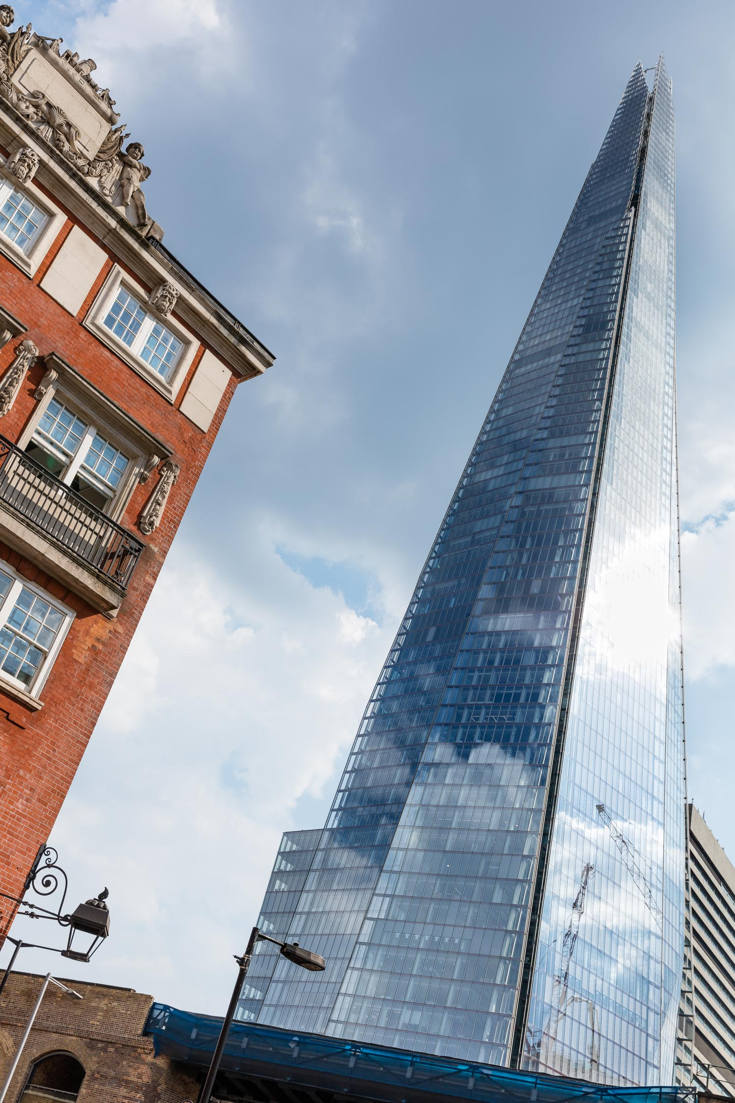 The Shard in London. For more info about this iconic building, click here:  The Shard .