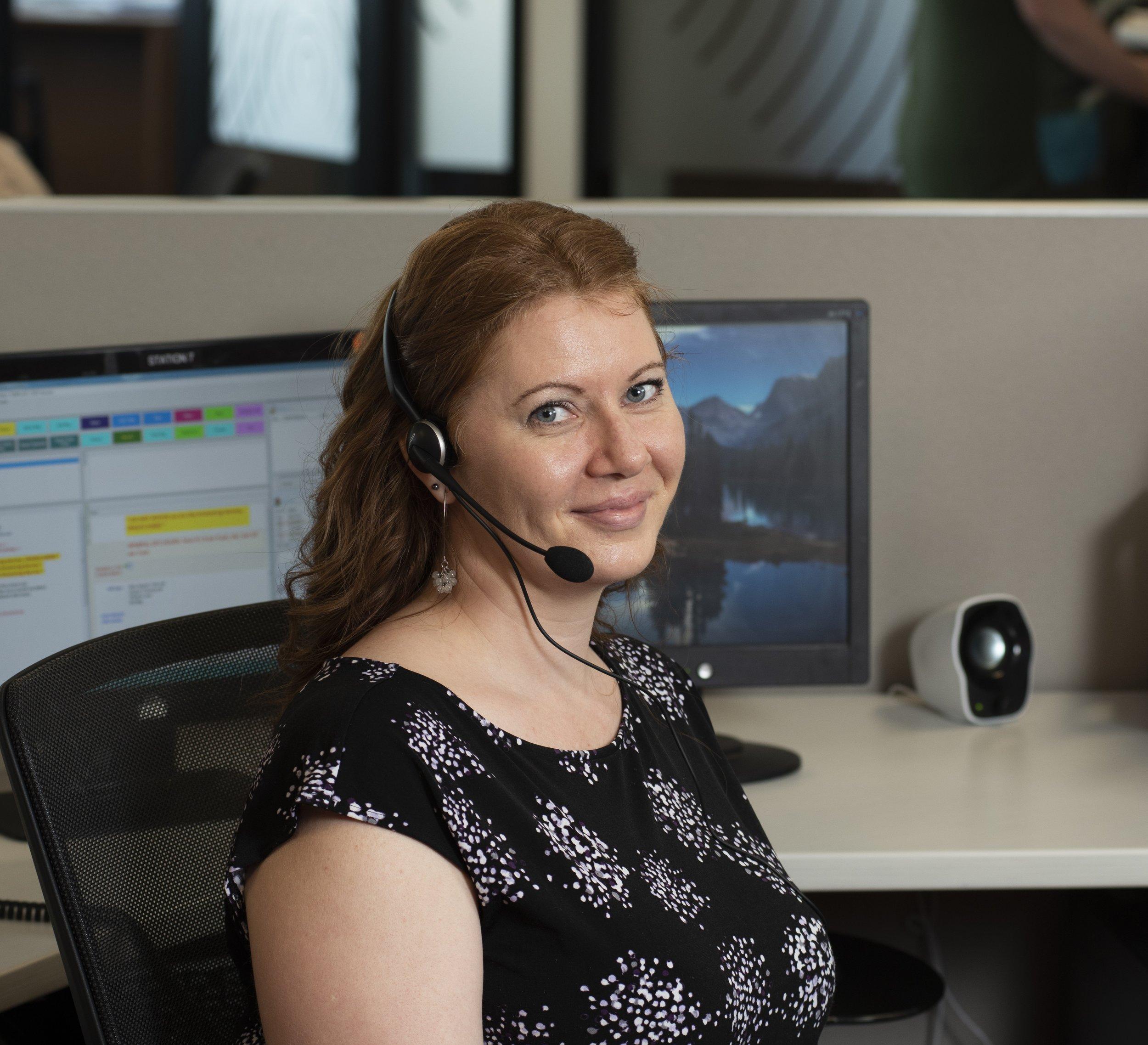 Martina, Telephone Agent