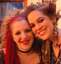 Faryn Eiinhorn & Natalie Kuhn - Sacred Courtesan & Female Pirate