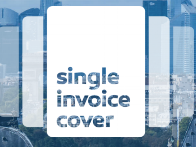 SINGLE INVOICE COVER - Single Invoice Cover is the first of its kind API-based, real-time single transaction credit insurance service.It addresses the need of innovators in supply chain finance and B2B marketplaces. It opens new perspectives in the management of credit risk, by unlocking access to invoice-level data from all partners along the B2B trade value chain.