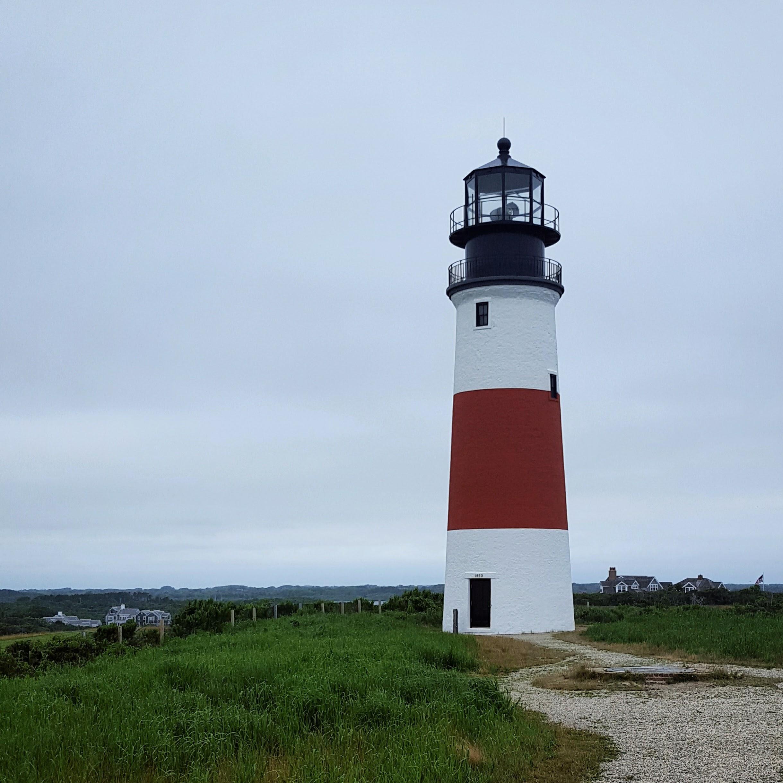 Sankaty Head Lighthouse overlooks world famous Sankaty Head Golf Course.